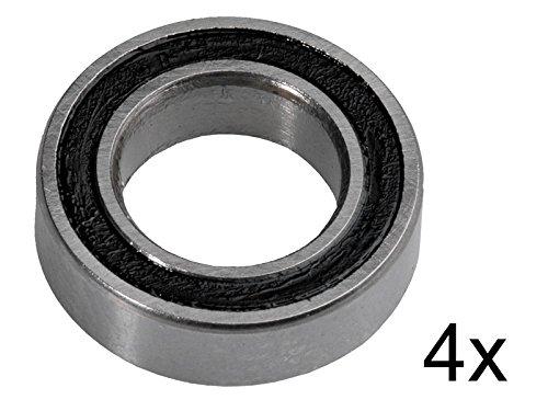 RT Reckward Tuning Kugellager 6x10x3mm MR106-2RS ABEC 3 (4 Stück) (1 10 Scale Losi)