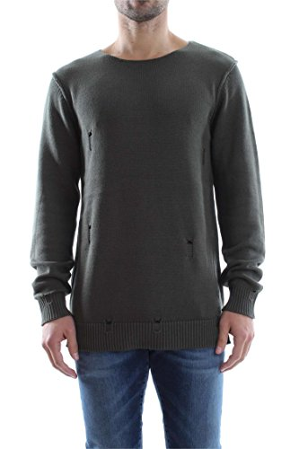 Jack & Jones Thomas Knit Crew Neck uomo, maglione, verde Thyme