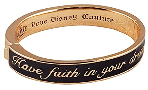 Black Cinderella Have Faith In Your Dreams Bangle from Disney Couture