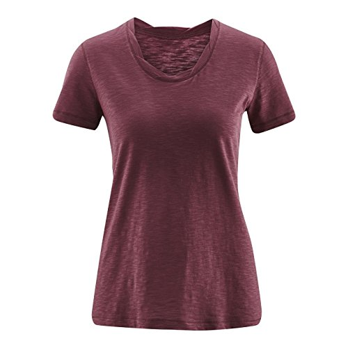 Living Crafts T-Shirt M, Light Grape