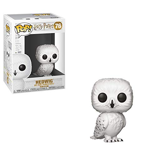 41rKjGvwt7L - Funko Pop Vinilo Harry Potter S5, Hedwig, Multicolor (35510)