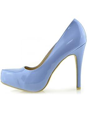 Kick Footwear - Donna Anne Michelle Tribunale Del Brevetto Scarpe Tacchi Alti Smart Partito Del Lavoro Ladies...