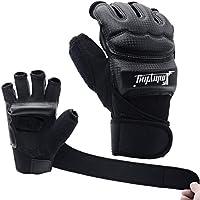 Xinluying Boxhandschuhe MMA Handschuhe Boxsack Taekwondo Boxen Sparring Kampfsport Sandsack Training Herren Damen