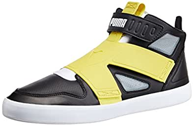 Puma Men's El Rey Future Black, Green Sheen, White and Limest Sneakers - 10UK/India (44.5EU)