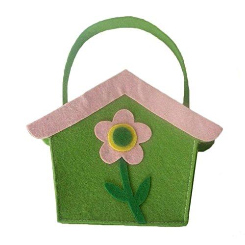 Haus Bag Von Hello (Say Hello Ostern Süßigkeiten Tasche Coxeer Partyhaus formte Ostern Süßigkeiten Geschenk Taschen)
