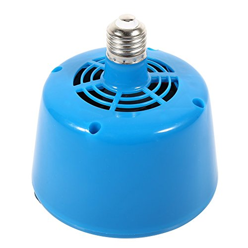 Lampada di calore per animali domestici,Haofy nuovo stile E27 Tipo di lampada a luce di calore per pollame Lampadina per luce di riscaldamento per maialini Brooder Riscaldatore (Blu)