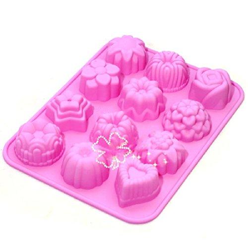 12-flores-tarta-de-chocolate-molde-para-hornear-molde-de-silicona-aleatoria-diy-home