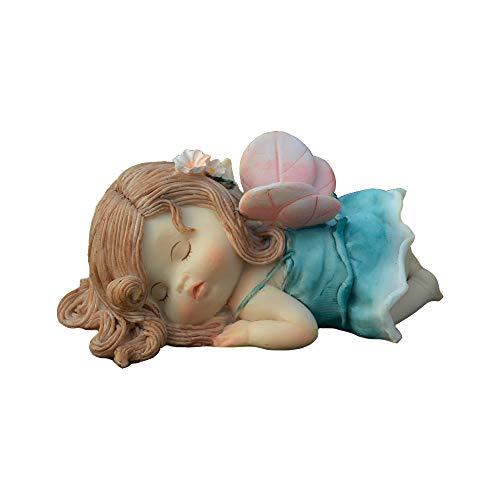 Gemmia Mädchen Fairy Dekofigur 3x1-1/2 Face Down Fairy