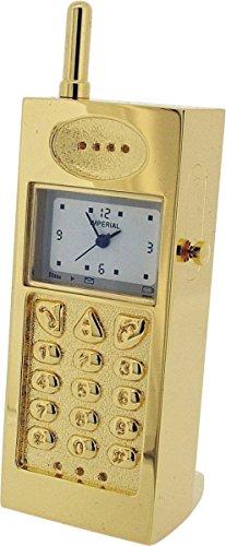 Gold Handy Miniatur Uhr von Gift Time Products
