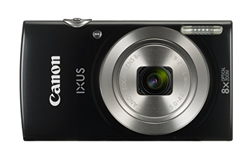 Canon IXUS 185 Digitalkamera (20 MP, 8x optischer Zoom, 6,8cm (2,7 Zoll) LCD Display,...