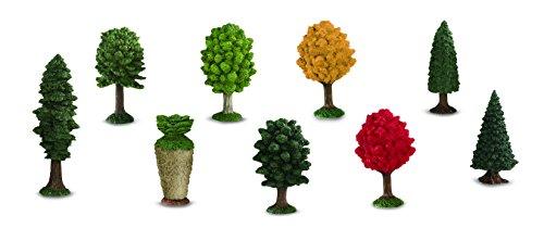 Safari Plastic Miniatures In Toobs-Trees