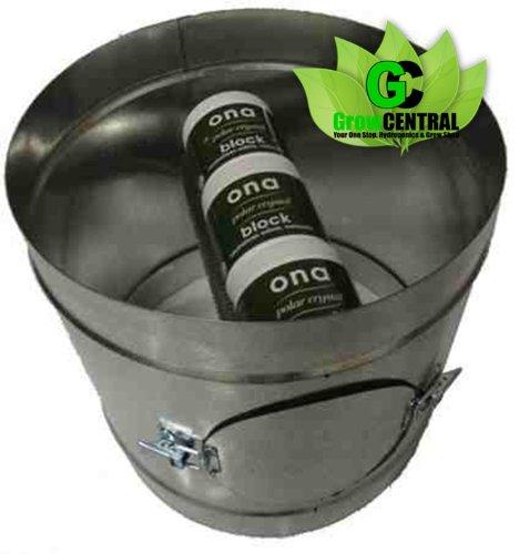 Ona Geruchskontrolle Duct 15,2cm (hält Ona Block) passt auf Lüfter, Filter, Rohrleitungen (Duct Lüfter Air)