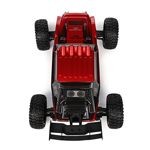 RC Auto kaufen Buggy Bild 5: HAIBOXING Ferngesteuert Auto 2,4 GHz 4WD 1/12 RC Desert Buggy 38 KM/H Hoch Geschwindigkeits Mit 6 LED-Leuchten, Hydraulikdämpfer Wasserdicht RC elektro Lastwagen RTR Hobby-Klasse*