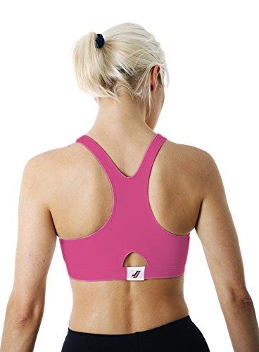 Sportjock - Soutien-gorge -  Femme Rose - Fuschia Pink
