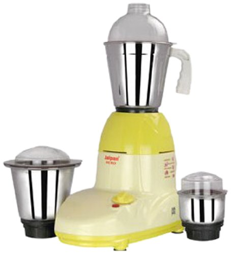 Jaipan JP_HMG 550-Watt Hero Mixer Grinder with 3 Stainless Steel Jars  available at amazon for Rs.1999