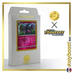 Granbull 138/214 Holo Reverse - #myboost X Soleil & Lune 8 Tonnerre Perdu - Box de 10 Cartas Pokémon Francés