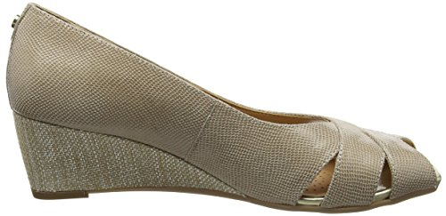Van Dal Damen Paxton open toe wedges Beige (Pulver)