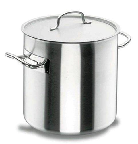 Lacor Chef Classic 50120 - Olla recta con tapa, 20...