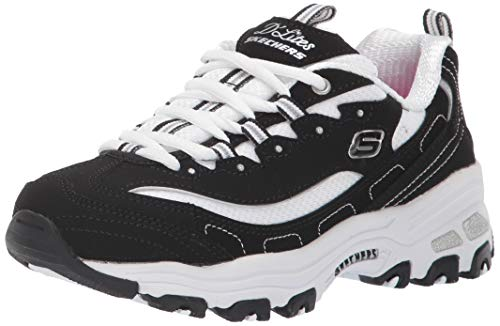 best authentic ab5aa 8f3d8 Skechers D lites-Biggest Fan, Zapatillas para Niñas, Negro (Black Trubuck