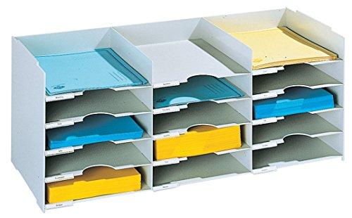 Paperflow 786676 - Formularkasten 15 Fächer A4