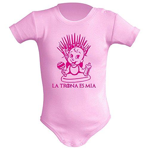Body bebé unisex La trona es mía (Juego de tronos - parodia). Regalo
