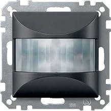 Schneider elec rls - cco 65 00 - Detector movimiento empotrar 180/elegance antracita