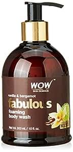 WOW Vanilla & Bergamot No Parabens & Sulphates Shower Gel, 300mL