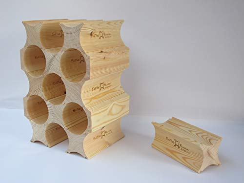 Holz Weinregal 'Bottle Blocks'(Einzelpackung)