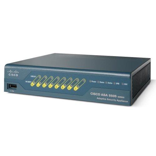 Cisco ASA5505-50-BUN-K9 Firewall Edition Bundle Security Appliance, Verde