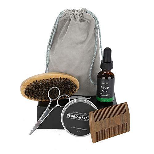 La Barba cuidado Set-algodón crema algodón aceite