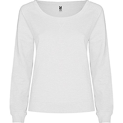 SUDADERA BONA - Sweat-shirt - Femme Blanc