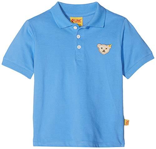 Steiff Steiff Baby-Jungen Poloshirt 1/4 Arm, Blau (Marina|Blue 3056), 62