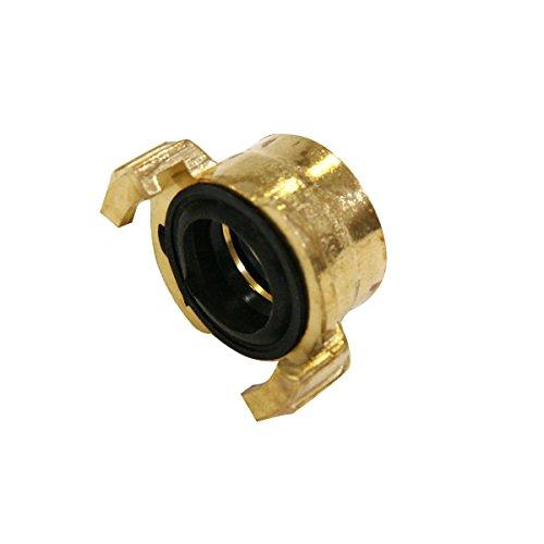 Xclou Raccord fileté pour tuyau d'arrosage - Joint d'étanchéité pour tuyau - Raccord fileté femelle en laiton 26 mm