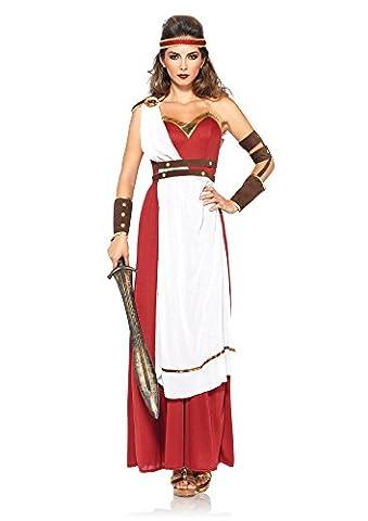 Leg Avenue 85383 - Spartan Göttin Damen kostüm , Größe S/M, Damen Karneval Kostüm Fasching (Roman Kriegerin Kostüm)
