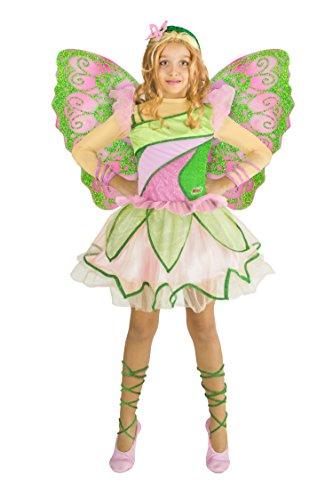Ciao 11199 - Flora Butterflix Costume Winx 4-6 anni
