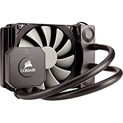 Corsair Hydro H45 All-in-One Liquid CPU Cooler Sistema di Raffreddamento a Liquido, Radiatore da 120 mm, Ventola Singola SP120 PWM, Nero