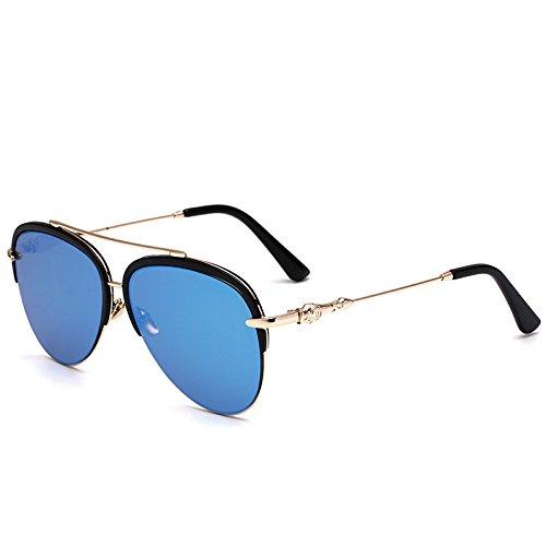 Stilvolle Neue Hälfte Umrahmen Die Kröte Sonnenbrille Männer Lady Hellen Sonnenbrillen , 4 (Erwachsene Kröte Kit)
