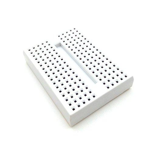 MaxDirectX 4 Stück Mini breadboard für Arduino, Raspberry Pi und andere Entwicklungs verwendet, RBTMKR Mini Solderless Prototyp Breadboard 170Hole self-adhensive FOR ARDUINO Breadboard Steckbrett