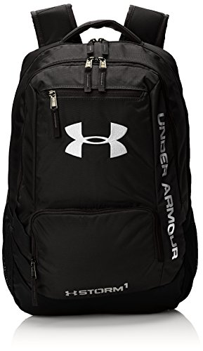 under-armour-mens-hustle-backpack-black-silver-one-size
