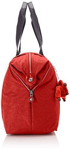 Kipling - ART M - Borsa da viaggio media - Black - (Nero) Multicolore (Red Rust Bl)