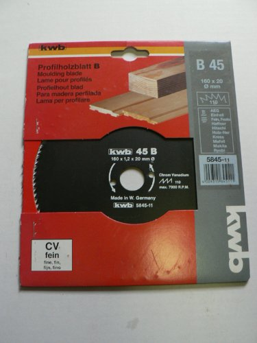 Preisvergleich Produktbild KWB Handkreissägeblatt, CV, 5845-11