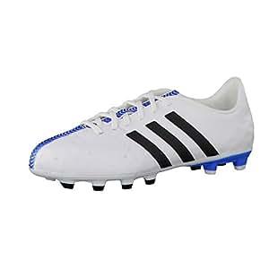 adidas Fussballschuhe 11nova FG J 28 ftwr white/core black/solar blue2 s14