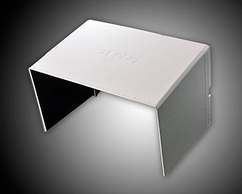 DSstyles DJI FPV Inspire 1 Inspire 2 Fernbedienung iPad Tablet-Monitor Phantom 4/ Phantom 3 Halterung 9.7 '' Sonnenschutz-Haube Blende Abdekung - Weiß - 5