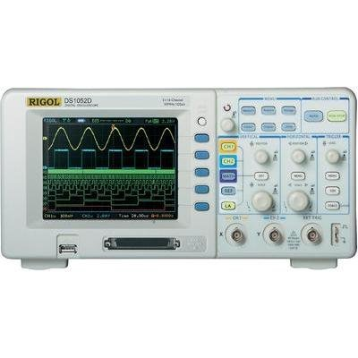 RIGOL DS1052D Digital-Speicher-Oszilloskop 2-canali Bandbreite 50MHz