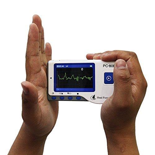 Heal Force Handheld ECG Monitor, Modell PC-80B (FDA und CE-zertifiziert) von Home Care Wholesale