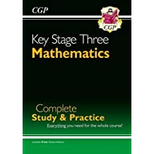 New KS3 Maths Complete Study & Practice (with Online Edition): Complete Revision and Practice