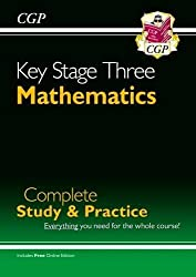 New KS3 Maths Complete Study & Practice (with Online Edition) (CGP KS3 Maths)