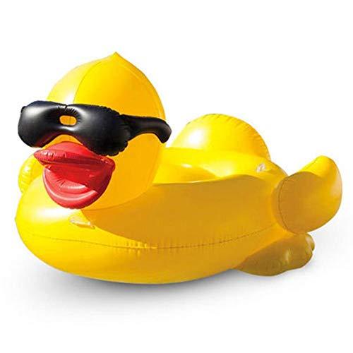 Flotteur Gonflable de Piscine de Canard, Jouets de Natation de flottement de lit de flottement de l'eau Gonflable de Radeau de Radeau d'amusement pour des Adultes