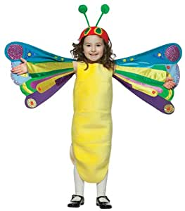 BUYSEASONS The World of Eric Carle The Very Hungry Caterpillar Butterfly Halloween Costume - Toddler Size 3T-4T