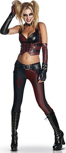 Und City Harley Quinn Arkham Joker Kostüm - Generique - Costume Harley QuinnBatman Arkham Citydonna M